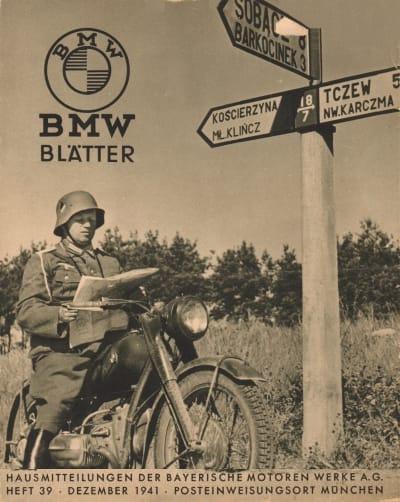 pre-war BMW motorcycles repro parts