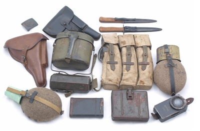 WWII equipment