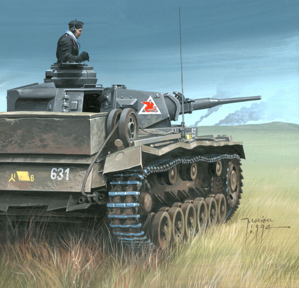 Panzer III Russia 1941