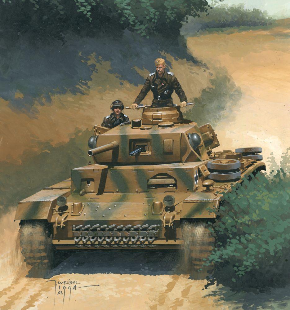 Panzer III commander