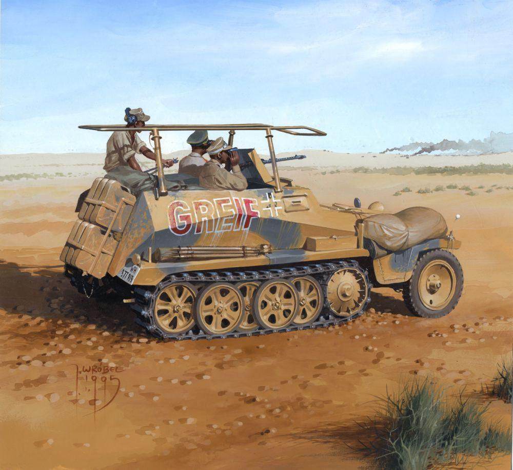 Sd.Kfz. 250 Africa 1941