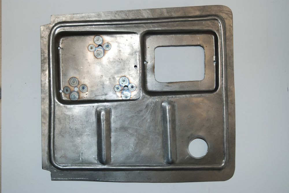 Plate for engine and tool box