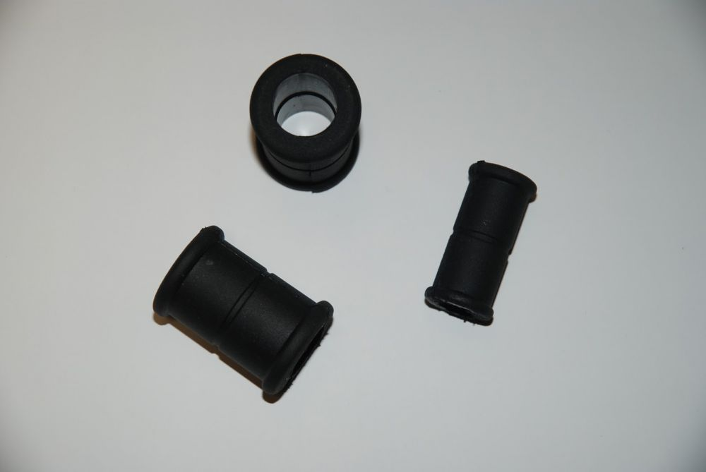 Rubber bushings for pushers