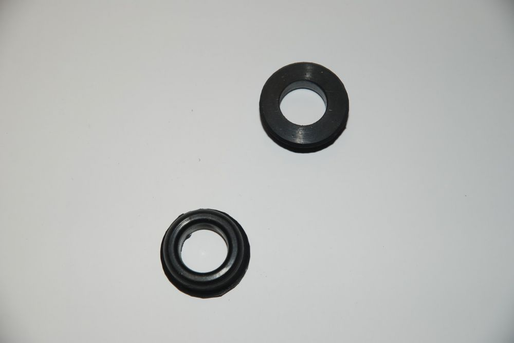 Rubber on the Cardan shaft