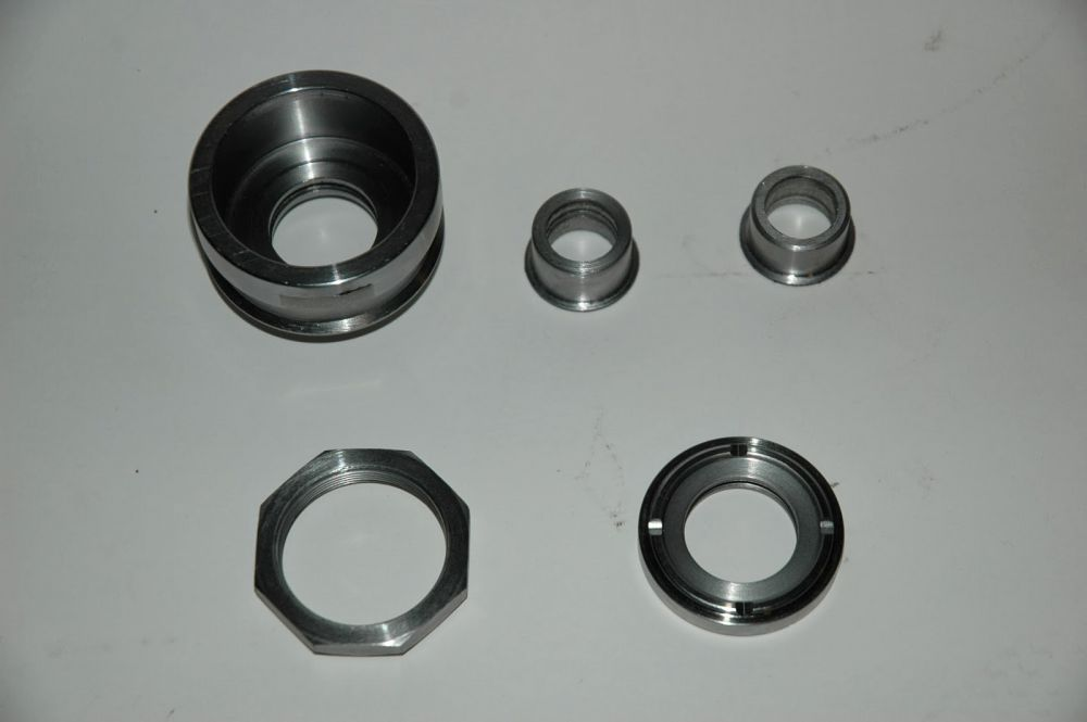 Rear axle bearing housing