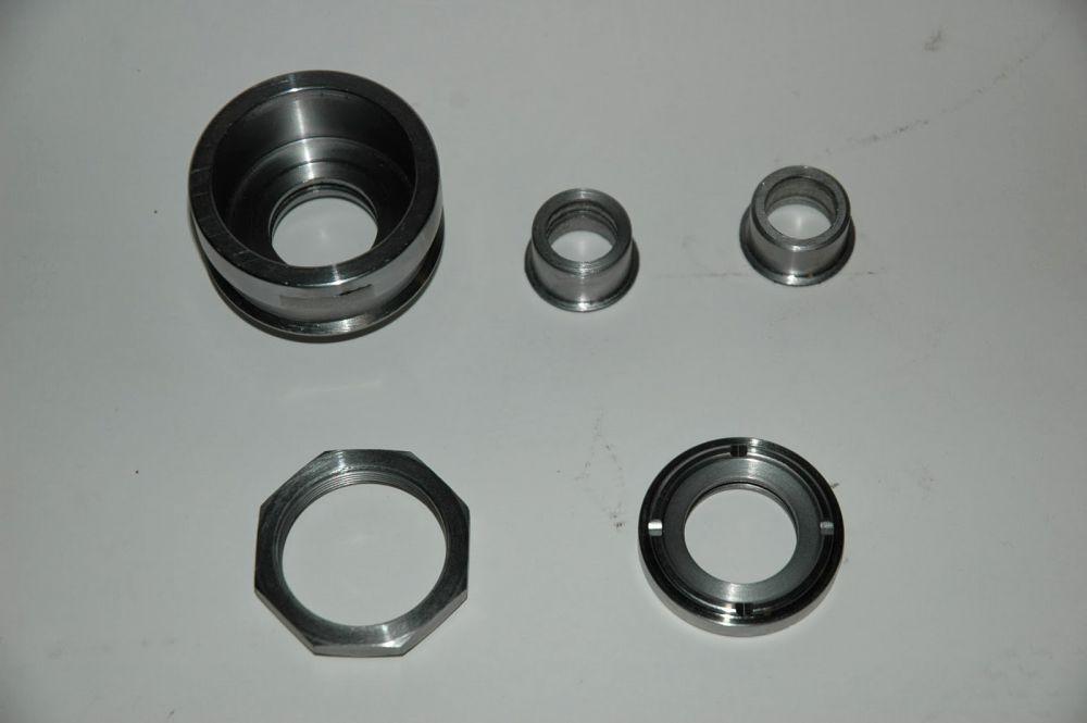 Rear axle bearing housing